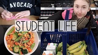 Baixar UNI VLOG | EASY STUDENT MEALS, TIME MANAGEMENT & KEEPING ON TOP OF WORK
