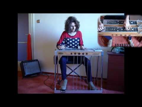 Liza Jane pedal steel guitar solo
