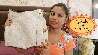 Inside My Bag || What you cannot forget to carry -  Soumali Adhikary