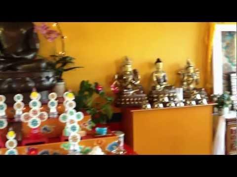 Cadzand tempel boeddha