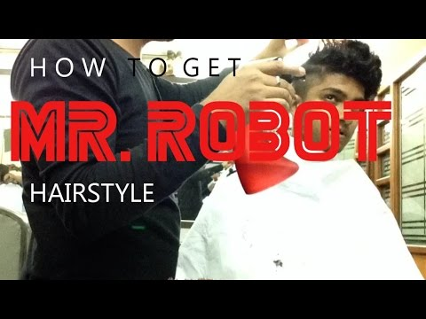 How to get a Mr iRoboti hairstyle Elliot s haircut YouTube