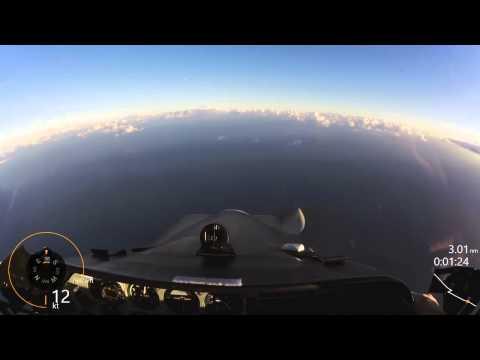 Scottish Aviation Bulldog Slow Rolls