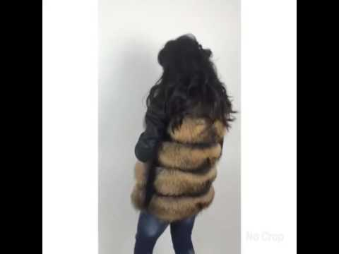 Luxury boutique Bulgaria real fur fox