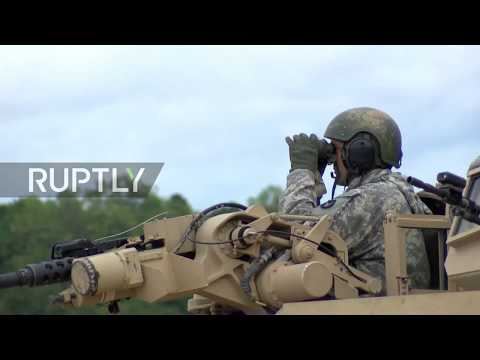 Sweden: US participates in Sweden's biggest military drills in 23 years