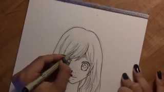 How to draw Futaba Yoshioka from the anime/manga Ao Haru Ride Tutorial
