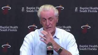 Miami Heat president Pat Riley press conference (Part 1 of 5) -- 04/30/18