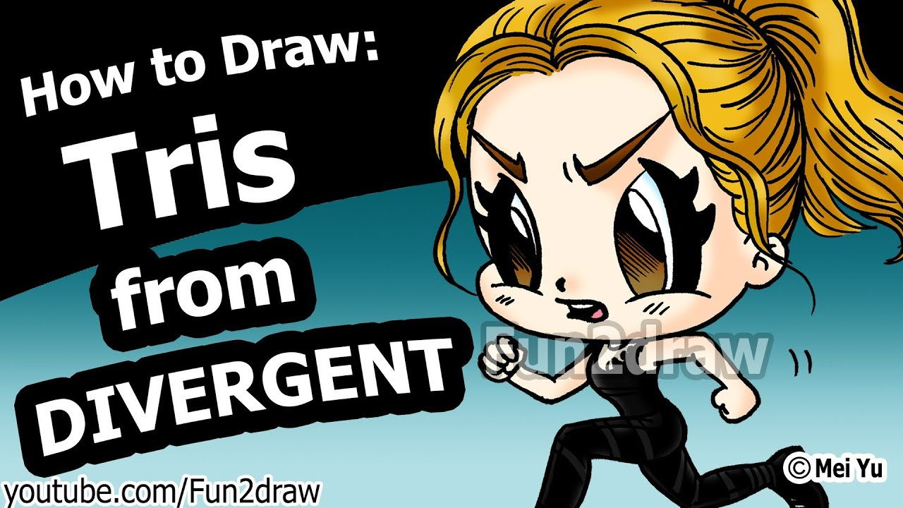 Divergent Tris Prior Dauntless How To Draw People