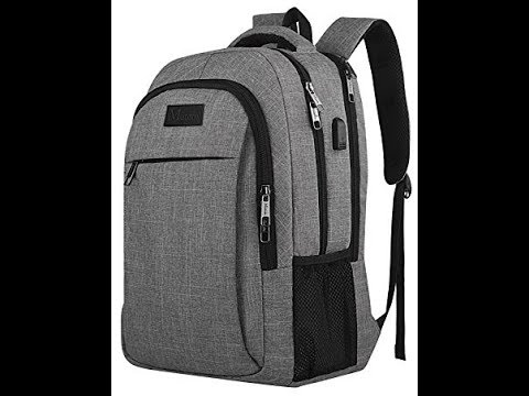 4dba5d74c3 Amazon Matein Travel Laptop Backpack Opening   Review - YouTube