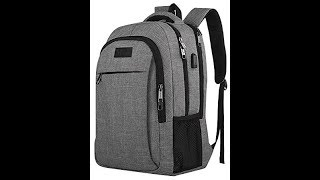 Video Amazon Matein Travel Laptop Backpack Opening & Review download MP3, 3GP, MP4, WEBM, AVI, FLV September 2018