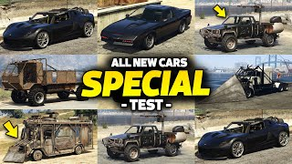 GTA 5 Online - ALL SPECIAL VEHICLES ON ONE PLACE [UPGRADE PRICE, CUSTOMIZE, DLC & MORE]