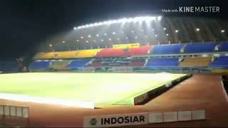 Ultras Palembang Singa mania Sriwijaya mania. Saat Sriwijaya VS Barito Putera