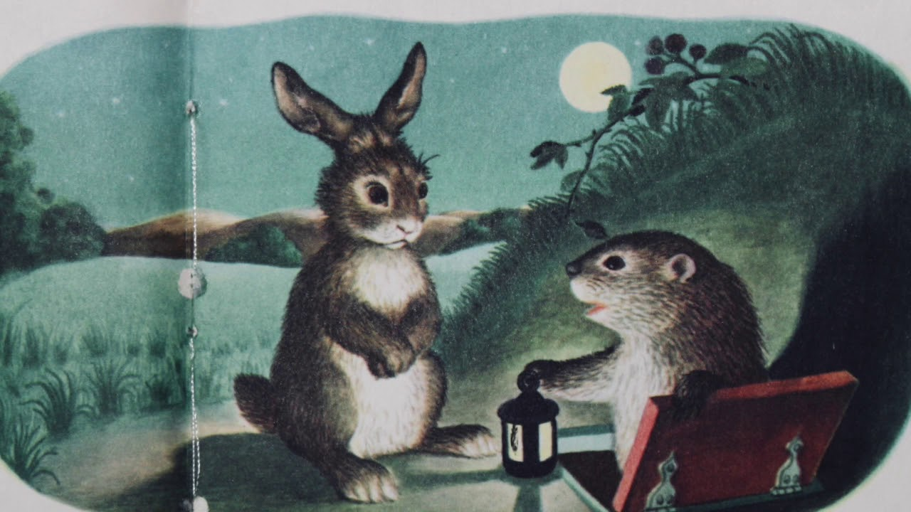 The Whispering Rabbit in Pop-Pop's Reading Place