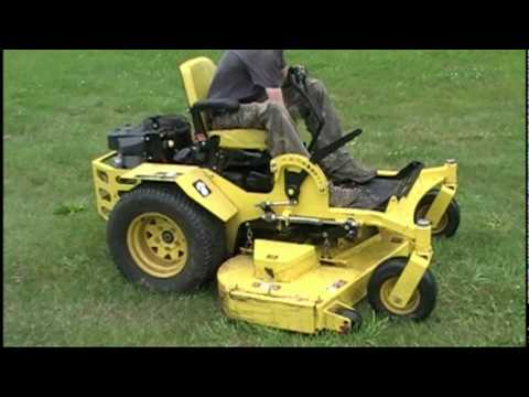 Zero Turn Mower Spindle Replacement Great Dane Chariot Youtube