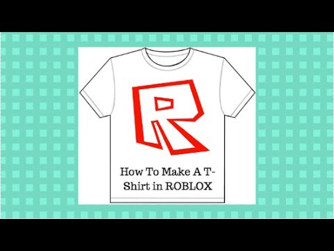 HOW TO CREATE YOUR OWN ROBLOX T SHIRT - YouTube