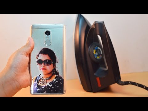 Thumbnail: How to Print Your Photo on Mobile cover at Home - Using Electric Iron