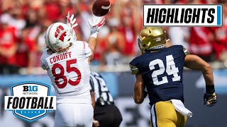 Notre Dame vs. Wisconsin | Late Surge By Irish Buries Badgers | Sept. 25, 2021 | Highlights