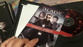 Blade,Blade 2, And Blade Trinity (DVD'S)
