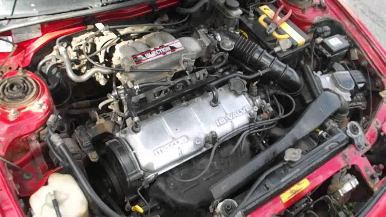 Купить и установить защиту двигателя MAZDA 323 F - YouTube