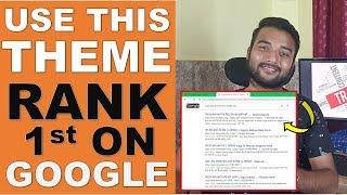 How Much Theme Affects SEO of A BLOG 2019 - Rank 1st On Google Using Theme - SEO Myths