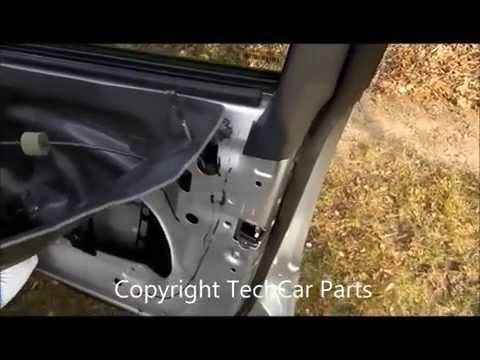 MB W211 Türverkleidung Ausbauen , Desmontar Panel Puerta Mercedes W211