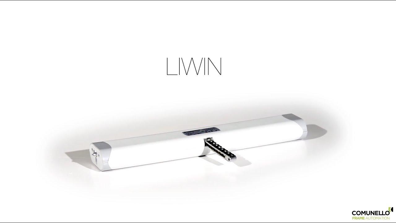 Liwin Attuatore Elettrico A Catena Comunello Frame Automation