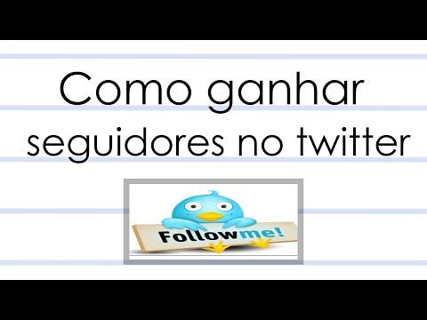 Como Ganhar Bas Seguidores no Twitter - 100% Funcional - 2014