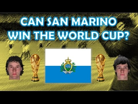 Can San Marino Win the World Cup? | Part 1 | Football Manager Experiment
