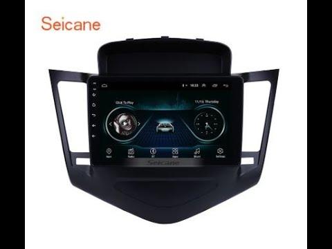 Штатная магнитола Seicane для Chevrolet Cruze 2009-2012 г. с Алиэкспресс. ГУ на Android для Cruze.