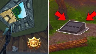 *WORKING* How To Get Into SECRET BUNKER at 'WAILING WOODS'... (Fortnite Bunker Revealed!)