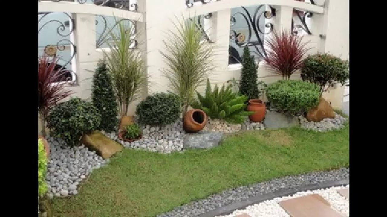 Delicieux [Garden Ideas] Small Landscape Gardens Pictures Gallery   YouTube