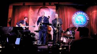 Scott Hamilton/Harry Allen with the Andy Brown Trio at the Jazz Showcase