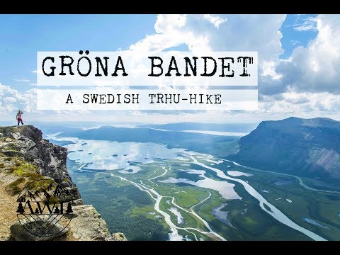 Gröna Bandet - A thru-hike along the Swedish Mountain chain