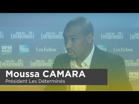 Moussa CAMARA, Président Les Déterminés