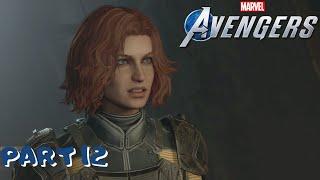 Marvel's Avengers Walkthrough Part 12 - STOP MONICA (Full Game) (Ps4 Pro) (1080p 60fps)