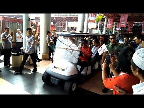 Megawati Ungkap Isi Percakapan Dengan Presiden Jokowi Saat Naik Mobil Golf