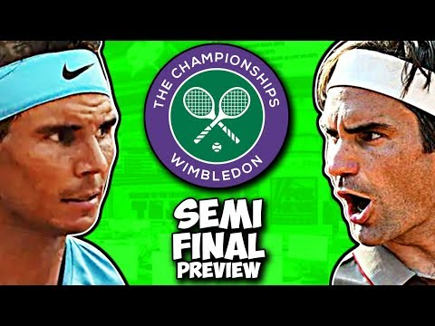 NADAL vs FEDERER | Semi Final Preview | Wimbledon 2019