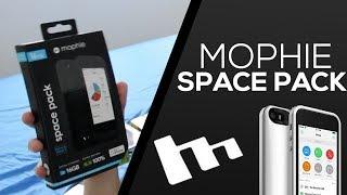 CAPA COM MEMÓRIA EXTRA PARA IPHONE (Mophie Space Pack)