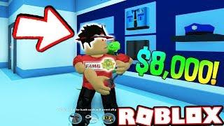 TROLLING CRIMINALS WITH AN $5,000+ USD SPARKLE TIME!!! (Roblox Jailbreak)