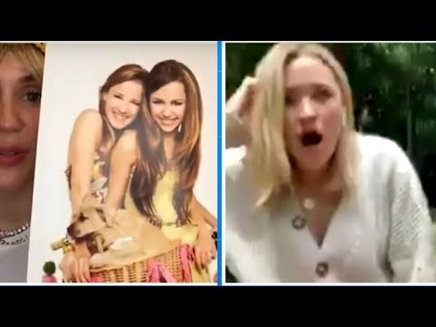 Miley Cyrus's 'Reunion of the Decade' With Hannah Montana Co-Star Emily Osment