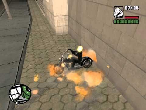 (Ghost Rider) призрачный гонщик GTA SA