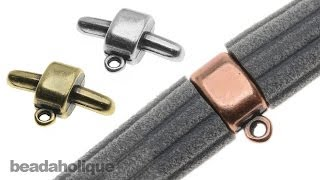 How to use the Charm Holder Connector Bar for Regaliz® Corduroy Rubber