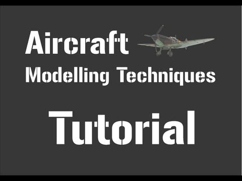 Aircraft Modelling Techniques Part 3 - Gluing, Filling & Sanding