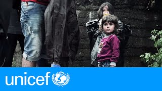 A children's crisis they did not create | UNICEF