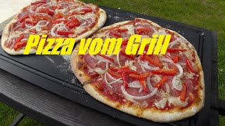 Westmünsterland BBQ 52 - Pizza vom Grill, Pizzastein-Test