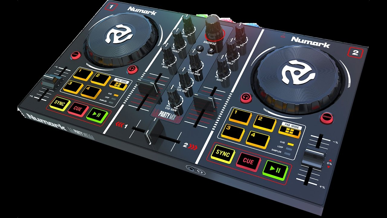 numark party mixer software