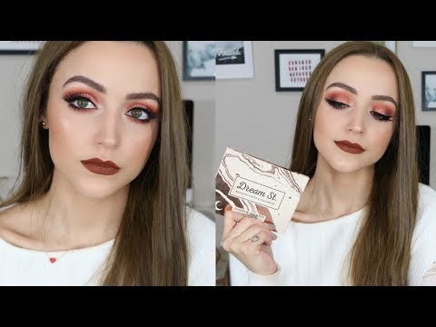 Copper Smokey Eye & Bold Lips | Makeup Tutorial