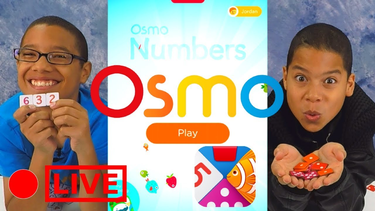 OSMO NUMBERS Review! iPad Game for KIDS! PlayOsmo Games for iPad