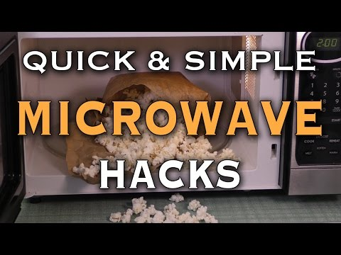 Cooking with microwave oven