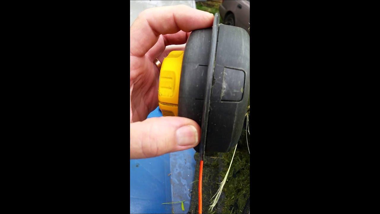 medium resolution of cub cadet string trimmer easy apart head part 1