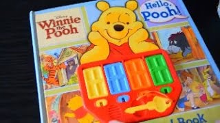 WINNIE THE POOH KEY AND DOOR BOOK PLAY-A-SOUND WINNIE FINDS A FRIEND DISNEY